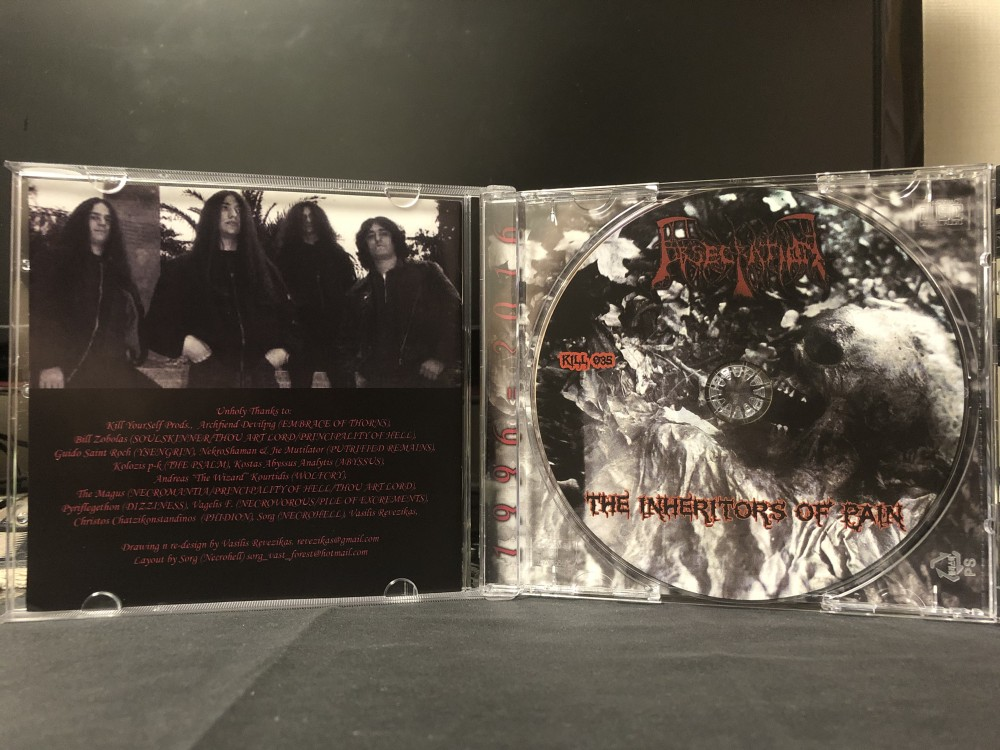 Obsecration - The Inheritors of Pain CD Photo