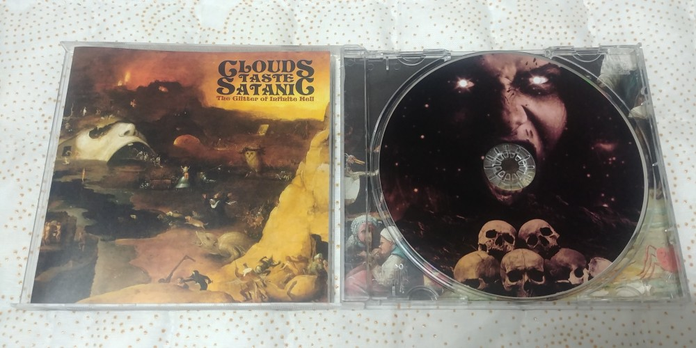 Clouds Taste Satanic - The Glitter of Infinite Hell CD Photo