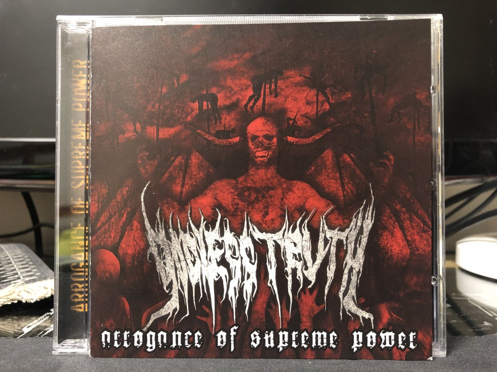 Godless Truth - Arrogance of Supreme Power CD Photo
