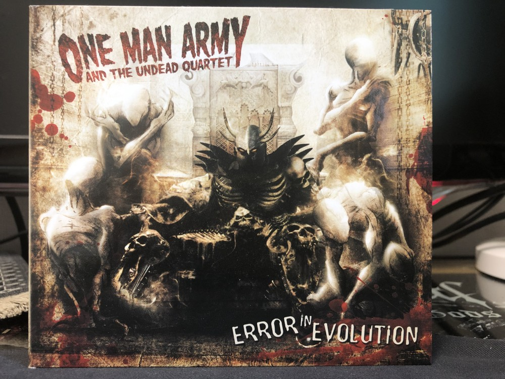 One Man Army and the Undead Quartet - Error in Evolution CD Photo