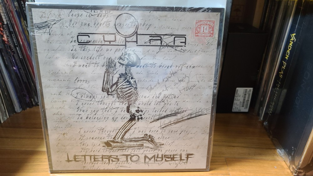 CyHra - Letters to Myself Vinyl Photo