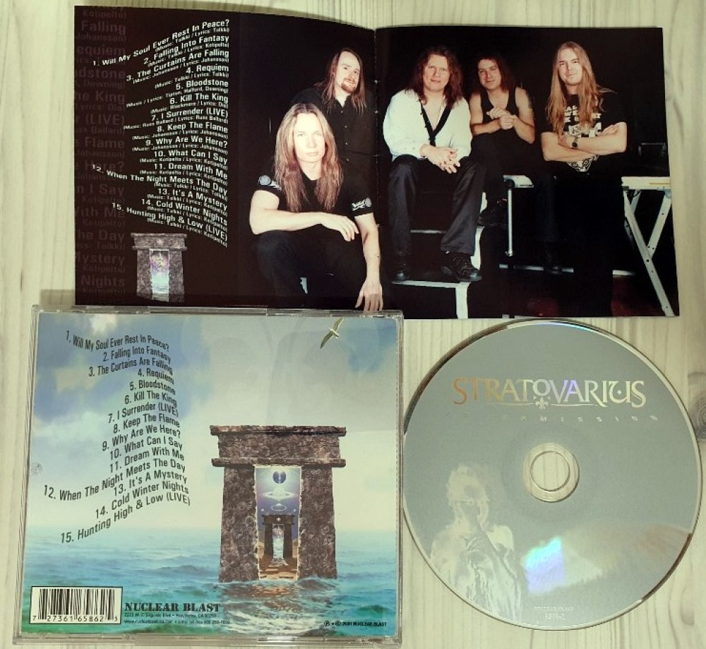 Stratovarius - Intermission CD Photo