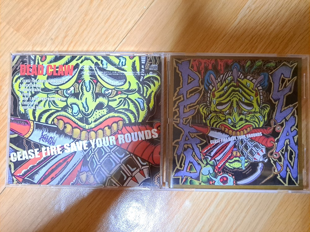 DeadClaw - Cease Fire Save Your Rounds CD Photo