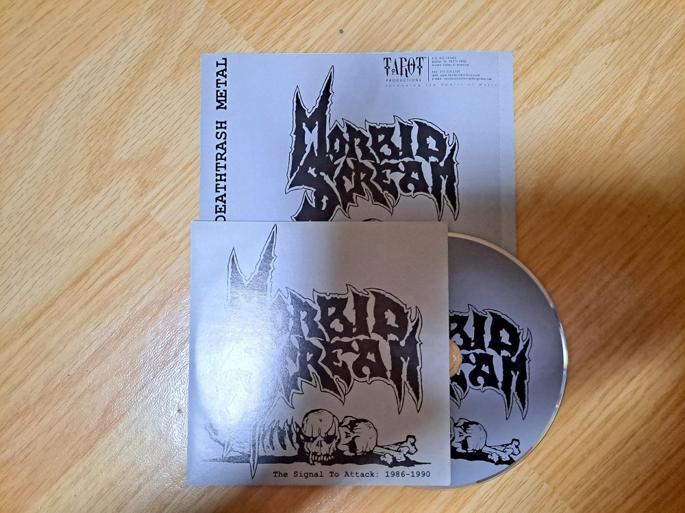 Morbid Scream - The Signal to Attack: 1986-1990 CD Photo