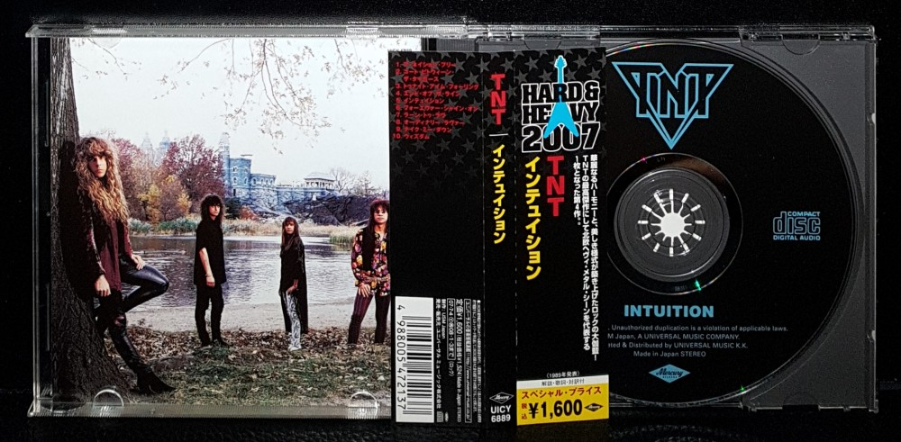 TNT - Intuition CD Photo