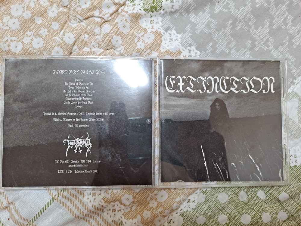 Extinction - Down Below the Fog CD Photo