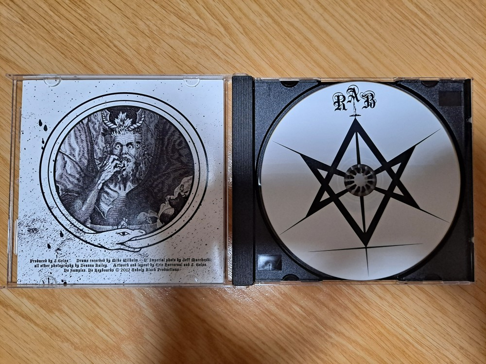 The Royal Arch Blaspheme - II CD Photo