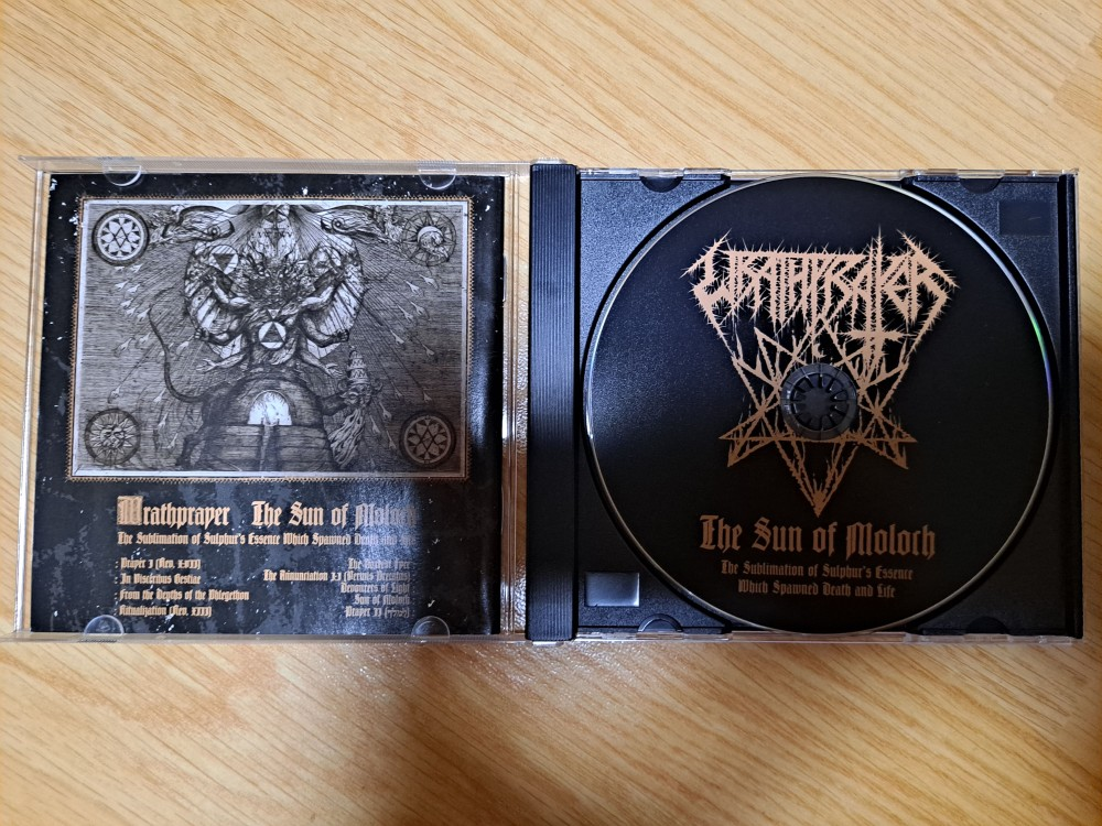 Wrathprayer - The Sun of Moloch: the Sublimation of Sulphur's Essence Which Spawned Death and Life CD Photo