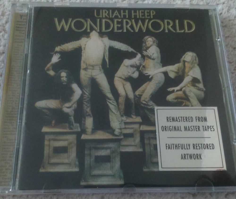 Uriah Heep Wonderworld Cd Photo Metal Kingdom