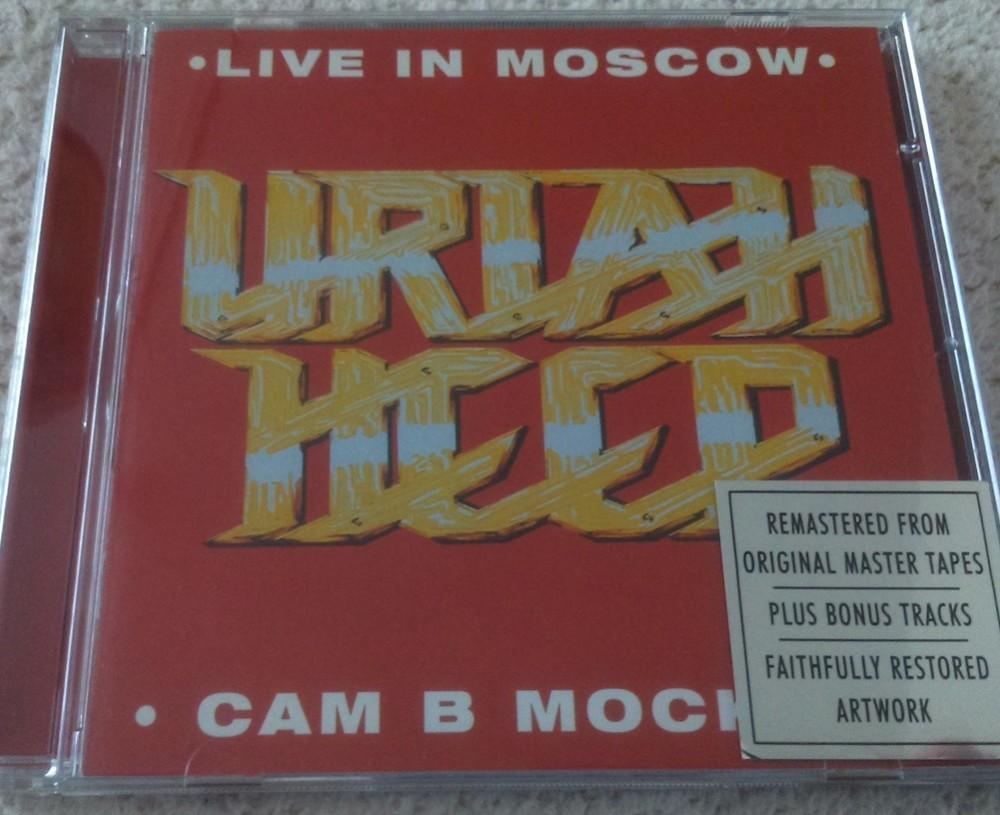 Uriah Heep Live In Moscow Cd Photo Metal Kingdom