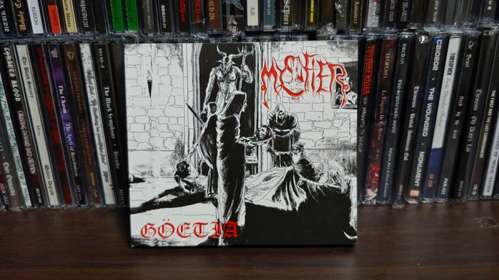 Mystifier - Göetia CD Photo