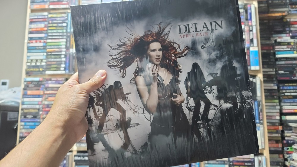 Delain - April Rain Vinyl Photo