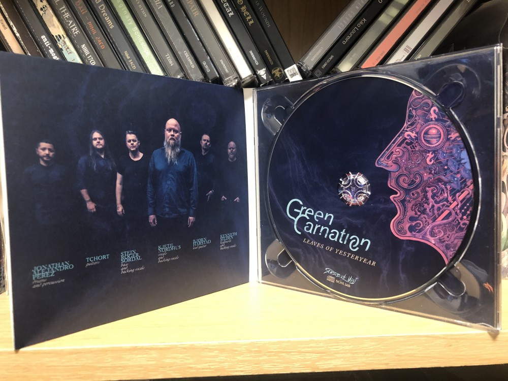 Green Carnation - Leaves of Yesteryear CD Photo