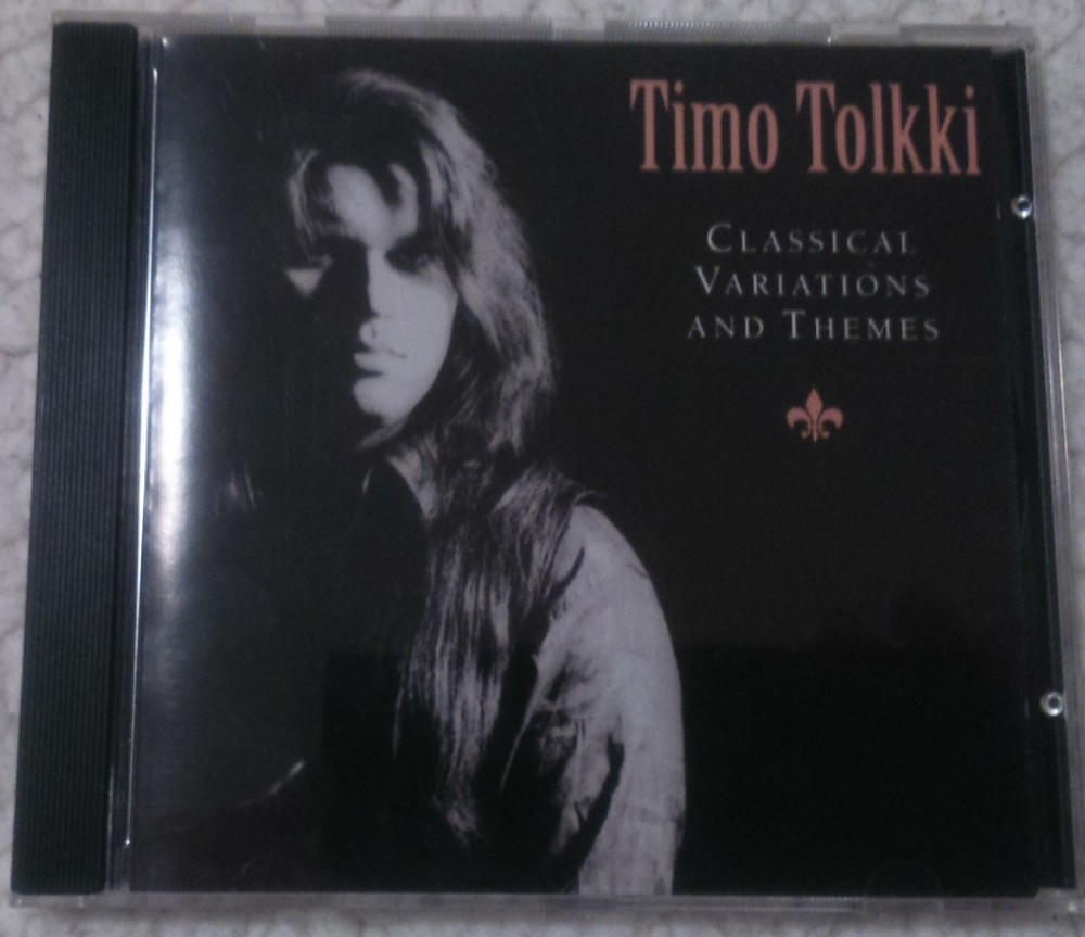 Timo Tolkki - Classical Variations and Themes CD Photo