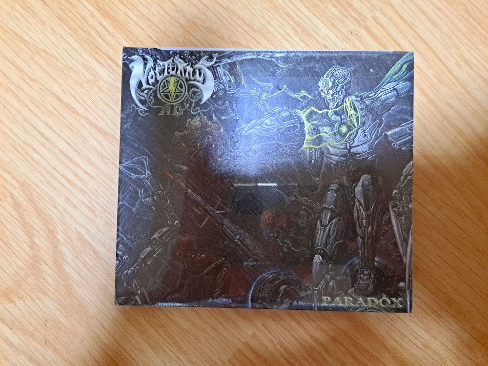 Nocturnus AD - Paradox CD Photo
