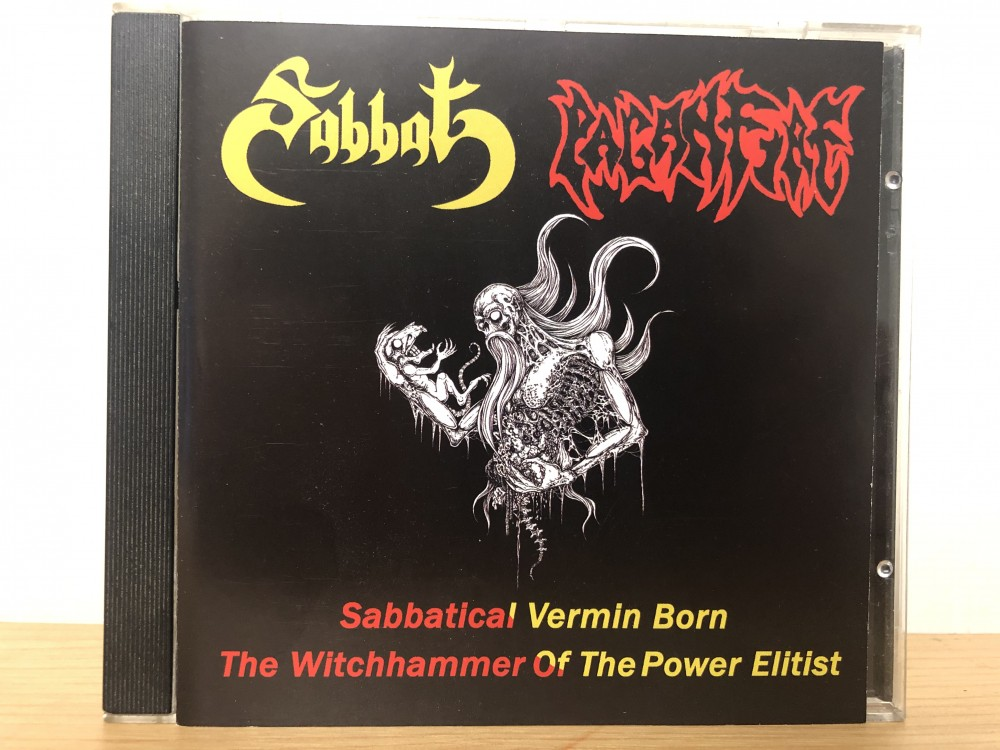Sabbat / Paganfire - Sabbatical Vermin Born / The Witchhammer of the Power Elitist CD Photo