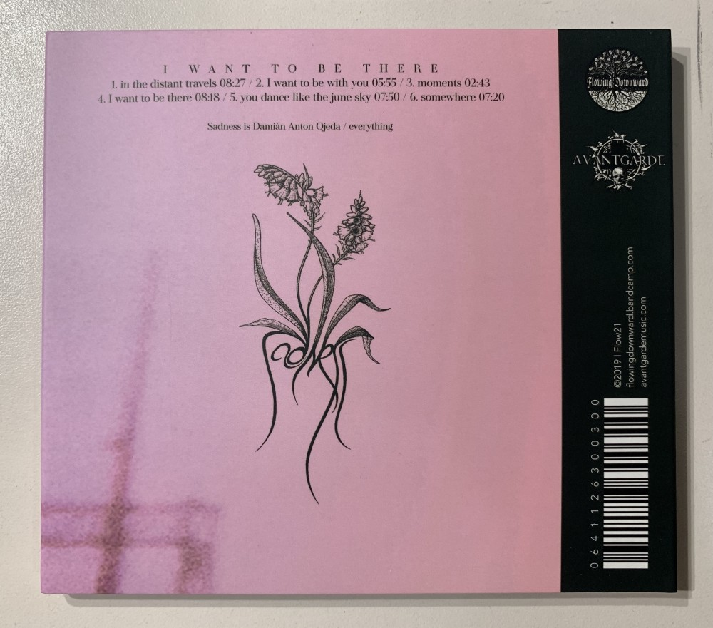 Sadness - I Want to Be There CD Photo