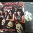 Exodus - Pleasures of the Flesh Vinyl Photo
