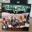 Testament - Live At Eindhoven Vinyl Photo by 꽁우