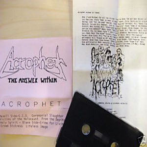 Acrophet - The Answer Within cover art