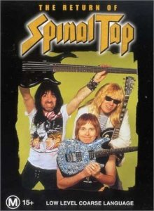 Spinal Tap - The Return of Spinal Tap cover art