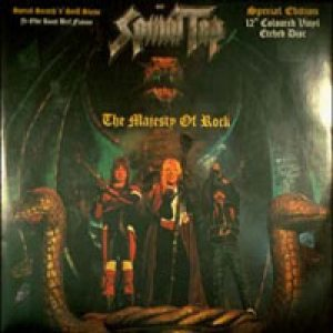 Spinal Tap - The Majesty of Rock cover art