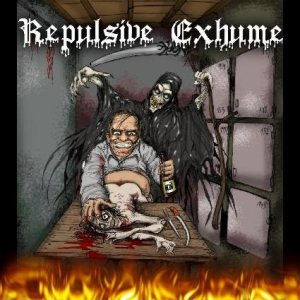 Repulsive Exhume - A Necrophilia Forensic cover art