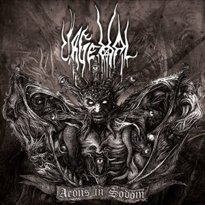 Urgehal - Aeons in Sodom cover art