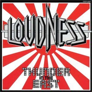 Loudness - Thunder in the East cover art