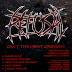 Refusal - Obey the Meat Grinder cover art