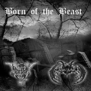Black Angel / Lord Satanael - Born of the Beast cover art