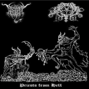 Black Angel / Eternal Sacrifice - Priests from Hell cover art