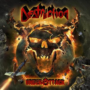 Destruction - Under Attack cover art