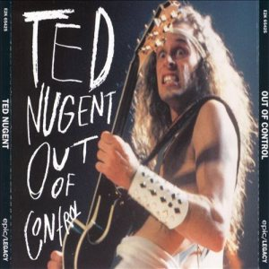 Ted Nugent - Out of Control cover art
