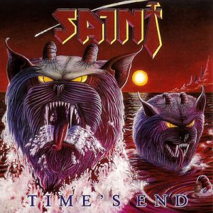 Saint - Time's End cover art