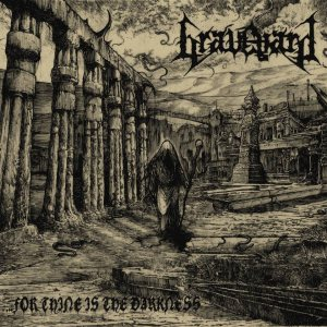 Graveyard - ...for Thine Is the Darkness cover art