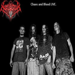 Mortuorium - Chaos and Blood Live.