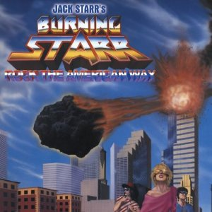 Jack Starr's Burning Starr - Rock the American Way cover art