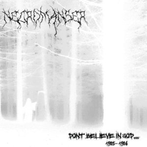 Necromanser - Don't Believe in God cover art