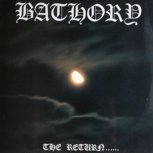 Bathory - The Return...... cover art