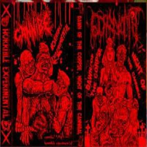 Cannibe / GoryVomit - Horrible Experimental / Dawn of the Corpse, Night of the Cannibal cover art
