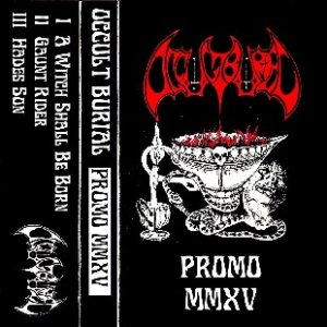 Occult Burial - Promo MMXV cover art