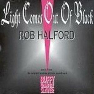 Rob Halford - Light Comes Out of Black cover art