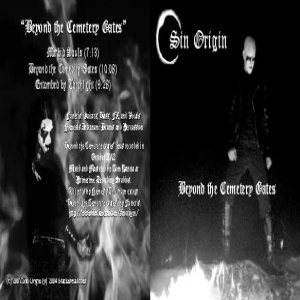 Sin Origin - Beyond the Cemetery Gates cover art