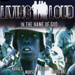 Living Loud - In the Name of God cover art