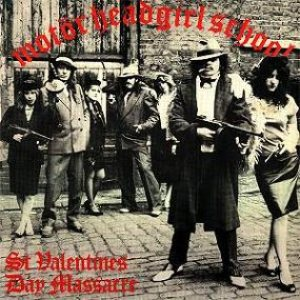 Motörhead / Girlschool - St. Valentine's Day Massacre cover art