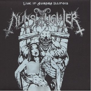 Nunslaughter - Live in Aurora Illinois cover art