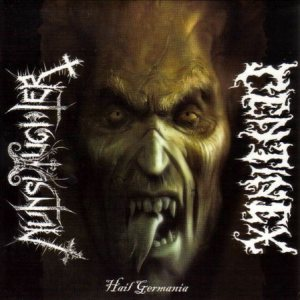 Nunslaughter / Centinex - Hail Germania cover art