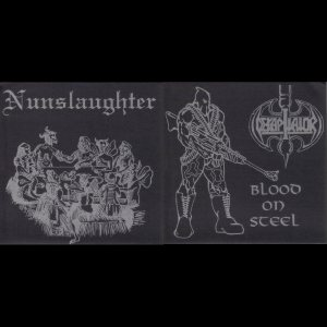 Dekapitator / Nunslaughter - Nunslaughter / Dekapitator cover art