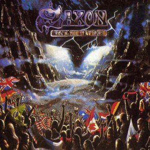 Saxon - Rock the Nations cover art